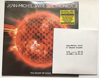 Jean Michel Jarre - Electronica 2 Sealed Record Bonus Record Store Day 7'' Vinyl