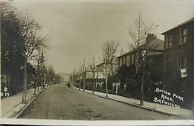 Tranquil Boston Park Road Brentford Middlesex 1910 Rp Pc