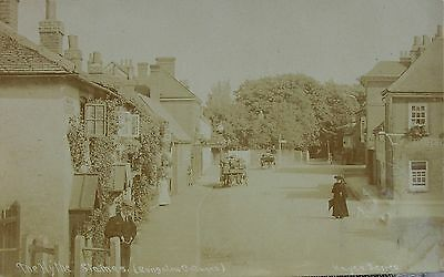 The Hythe Staines Middlesex 1907 Rp Pc