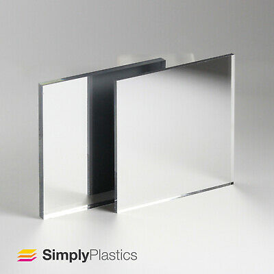 Silver Acrylic Mirror Sheet - A5, A4 & A3 Sheet Size / 3mm and 5mm Thickness