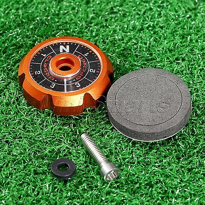 Orange Aluminum Adjustable Angle Sole Plate for TaylorMade R1 Golf Driver