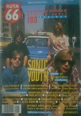 RUTA 66 SPANISH mag rare magazine 1992 sonic youth elvis presley springsteen