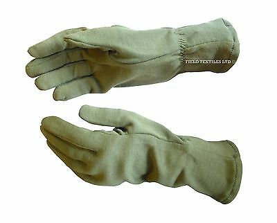 Gloves FR AFV, Crewmans - Olive Green - Brand New - Medium + Large Available -