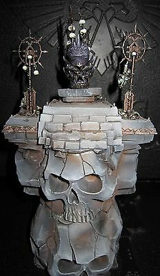 Warhammer scenery Magewrath Throne well Painted
