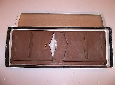 Lord Buxton Wallet Billfold Brown Thinfold Artisan Calf New Old Stock    4837