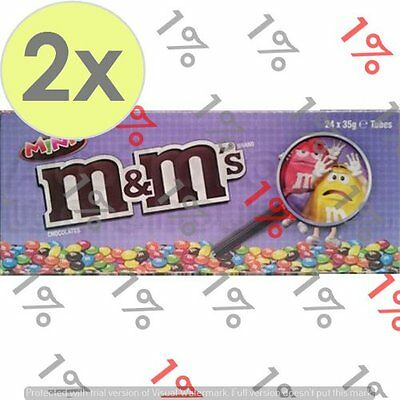 2x M&M'S Mini's Tube - 24 X 35 G