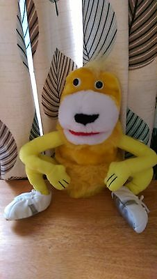 Vintage Levis Advert Flat Eric Plush Toy With Rare Trainers