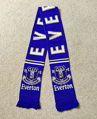 EVERTON FC Scarf Brand New Good Size Great Quality Knitted Scarf