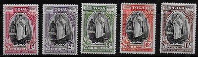 Tonga 1943 Silver Jubilee Accession of Queen Salote - MH