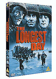 Longest Day 2 Disc Collectors Edition DVD John Wayne UK Release New Sealed R2