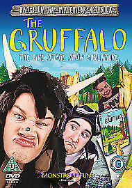 Gruffalo The Live Stage Show Adventure DVD Julia Donaldson UK Rele New Sealed R2