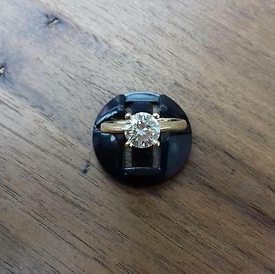 18ct Yellow Gold Diamond Solitaire Ring 1.04ct 3g