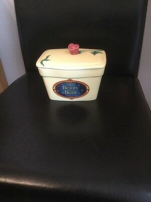 Clover Butter Dish Featuring Disney's Beauty And The Beast