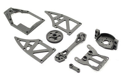 Ftx Surge 51T, Top Plate, Moto R Holder, Rr Tower, Side Plate Ftx7247
