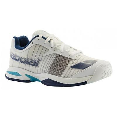 Babolat Junior Jet All Court Wimbledon Tennis Shoes Trainers - NEW