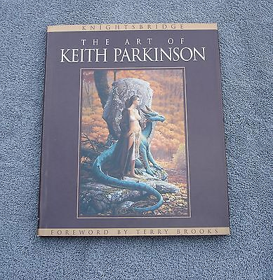 The Art Of Keith Parkinson - Knightsbridge - 1996 Hardcover