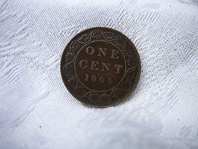 Canada 1 Cent 1905 EDWARD THE V11