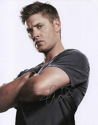 SALE Supernatural Jensen Ackles Signed 10x8 Photo Dean Winchester Autograph COA