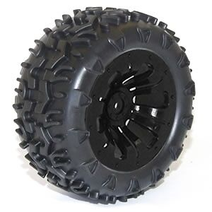 Ftx Carnage Mounted Wheel/tyre Complete Pair - Black Ftx6310B