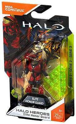 Mega Construx HALO Heroes Series 3 ELITE HONOR GUARD Brand New & Sealed