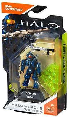 Mega Construx HALO Heroes Series 3 SPARTAN HOYA Brand New & Sealed