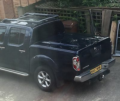 Nissan Navara D40 unique three position lift up hard cover