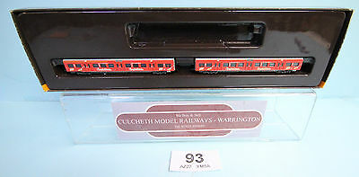 Marklin 'z' Gauge 87901 2X Spaghetteria Coaches Boxed #93