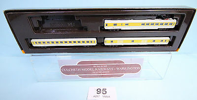 Marklin 'z' Gauge 81424 Measurement Train Coaches Only Boxed #95