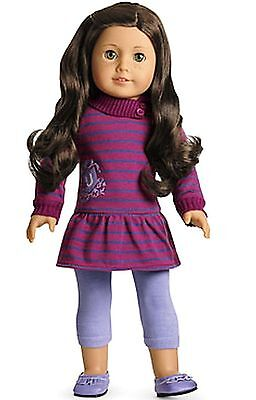 American Girl Doll Striped School Dress Outfit NEW!! Tunic Leggings