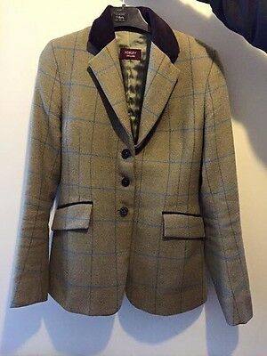 """Mrs Candy Jamieson Foxley Tweed Showing Riding Jacket 32"""" Maid"""