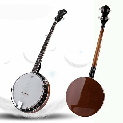 Top Quality 5 String Bluegrass Banjo with Remo Skin NR