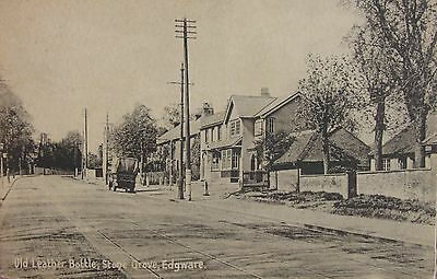 The Old Leather Bottle Stone Grove Edgware Middlesex 1916 Pc