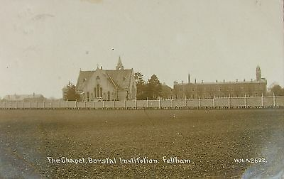 THE CHAPEL BORSTAL INSTITUTION FELTHAM MIDDLESEX 1920 WHA RP PC No2622