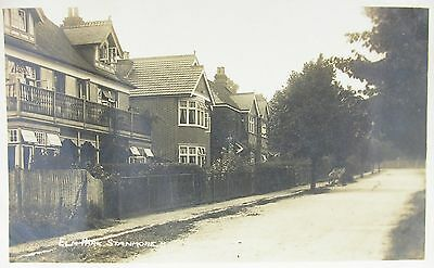 Leafy Elm Park Stanmore Middlesex 1914 Rp Pc
