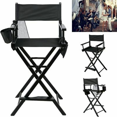 Folding Makeup Artist Directors Chair Salon Make Up Use Portable w/ Bags NR