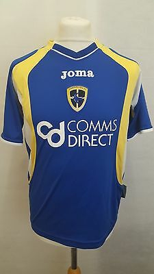 Cardiff City Fc Shirt Joma Home Size Xs - 2007/2008 Blue - #8 Darke