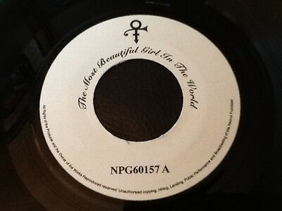 Prince ( Symbol )  . The Most Beautiful Girl In The World .  Rare Jukebox Copy