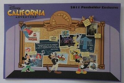 Disney Pin DLR A P Disney California Adventure Expansion Chip & Dale