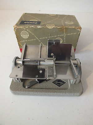 Cine film splicer EUMIG 8mm 16mm & super 8 Boxed FREE UK POST