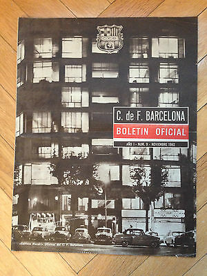 Barcelona Spain Os Beleneses Portugal Fairs Cup Uefa C3 1962 1963 Replay