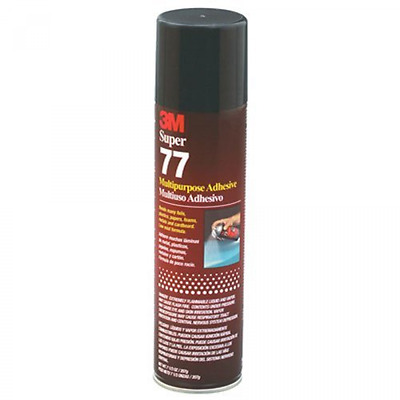 3M Super 77 Glue Fast Tack High Coverage Excellent & Uniform Spray Control New