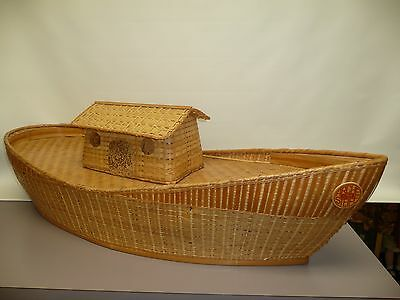 """Pre-owned Steiff Arc, Made of Wicker #14170  39"""" Long"""