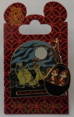 Disney Pin The Haunted Mansion Chip and Dale New
