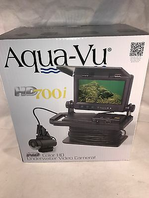 "Aqua-Vu HD700i Underwater Camera 7"" Color LCD Screen - NEW"