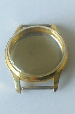 Omega 30T2 Swiss Made Case Gilt Coloured Stainless Steel Back & Glass