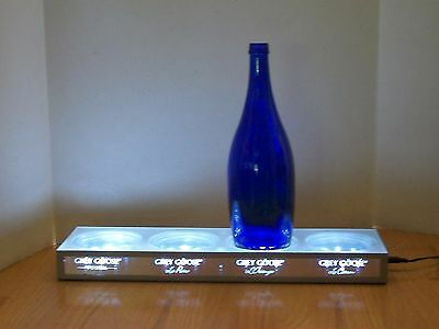 "Grey Goose 4-Bottle Display Light for Bar, Man Cave 17"" x 4 1/2"" FATHER'S DAY"
