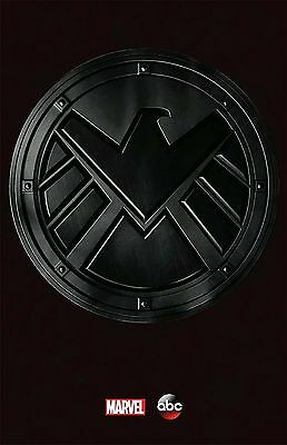 AGENTS OF SHIELD 11x17 Movie Poster collectible LOGO ONLY