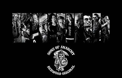 SONS OF ANARCHY GROUP BARS TV 11X17 Movie Poster collectible NEW CLASSIC