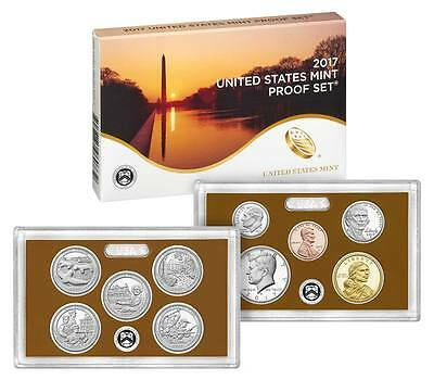 2017 US Mint CLAD Annual Proof Set 10 Coins Coin set 17RG