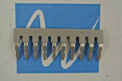 EB10-6 Phoenix Contact Terminal Bridge Connector 10 Pin  EB106  LOT OF 16 NEW